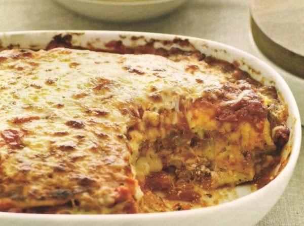 Flatbread Lasagna Recipe