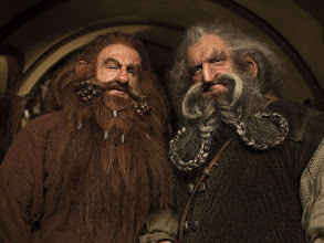 Photo: Gloin and Oin at Bag End.