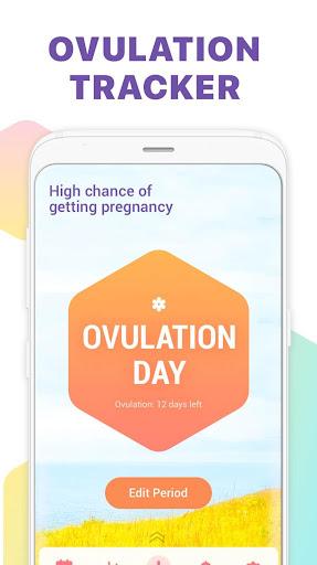 Period Tracker, Ovulation Calendar & Fertility app 1.1.8 screenshots 2