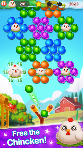 Bubble Farm - Fruit Garden Pop screenshots 2