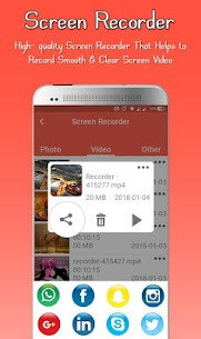 Screen Recorder – Audio,Record,Capture,Edit App Latest Version  Download For Android 5