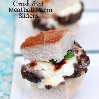 Crash Hot Parmesan Meatballs for Spaghetti or Sliders