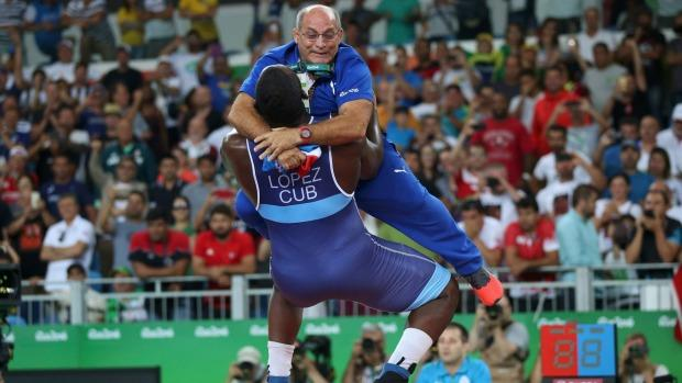 The coach gets slammed.