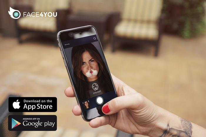 App Face4You: crea emoticon con il proprio viso