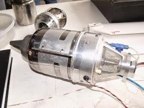 Photo: Un réacteur fini