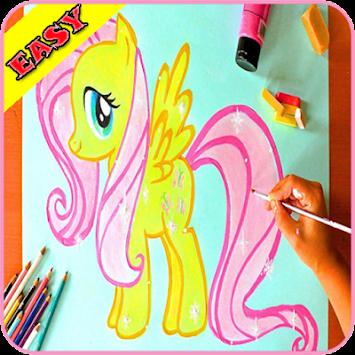 Cara Menggambar Kuda Poni Ez Poster