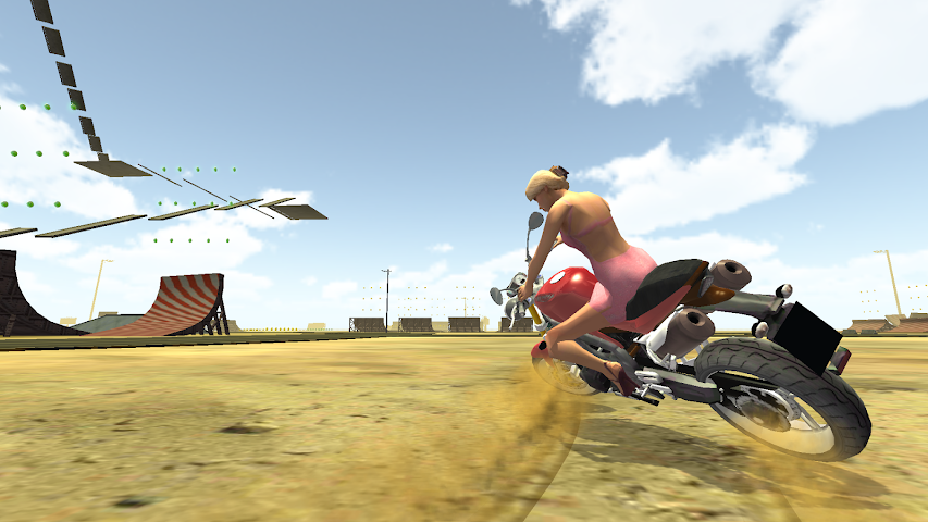 android Freestyle Motorcycle Driver Screenshot 0