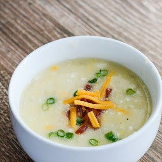 Light Potato Cheese Soup