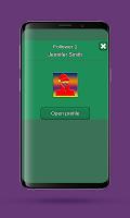 screenshot of Profile tracker