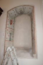 Photo: das alte Fenster wird nur etwas aufgefrischt, nicht restauriert, und original erhalten