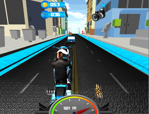 Motorbike Driving 3D Game