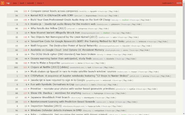 Hacker News, Enhanced
