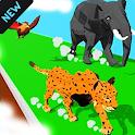 Animal Transform Race - Epic Race 3D Walkthrough icon