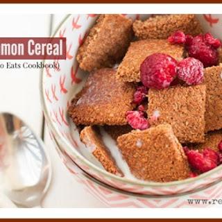 Paleo Coconut Cinnamon Cereal