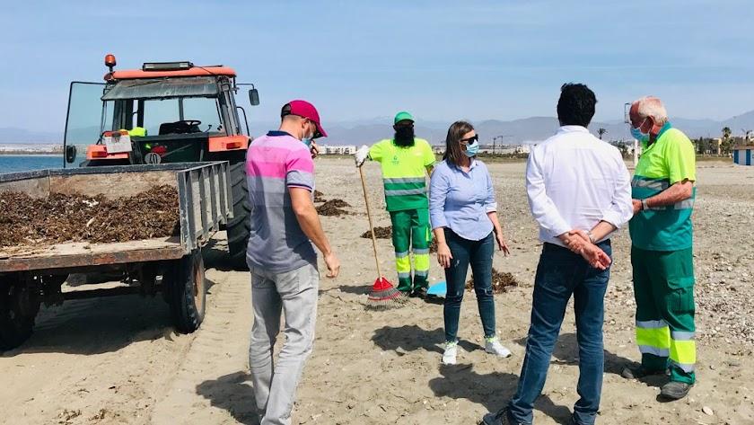 Las playas de El Ejido han recibido un certificado de calidad y seguridad.