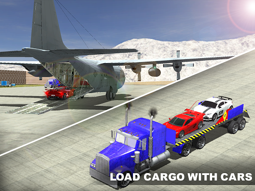 Airplane Pilot Car Transporter apkpoly screenshots 12