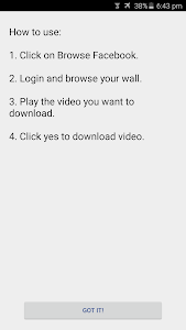 Video Downloader for Facebook v3.8