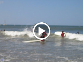 Video: Test - KT Weisman on surfboard in Costa Rica