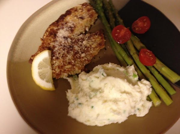 When skillet is hot, saute the fillets turning only once till golden brown (approximately...