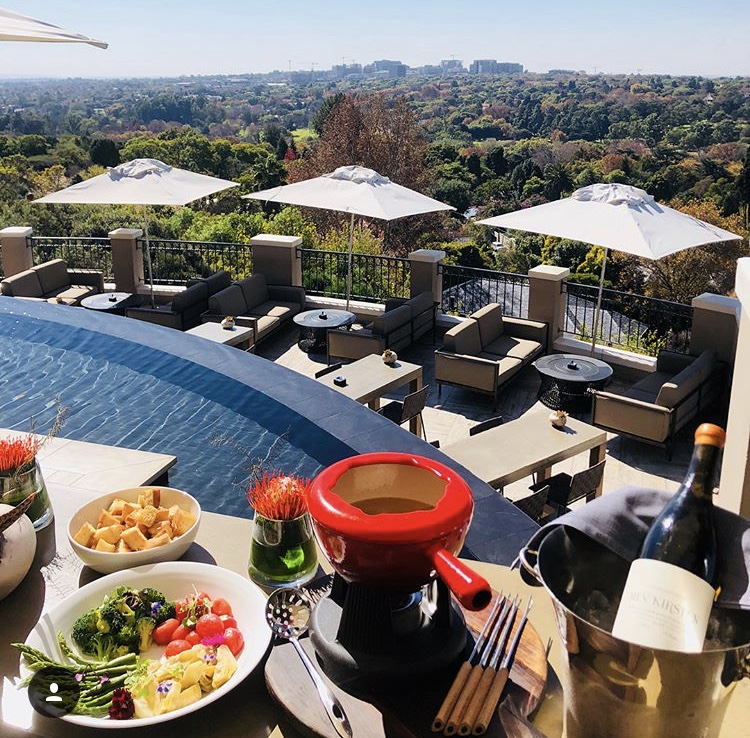 Four Seasons at the Westcliff has undeniably the best view in the city