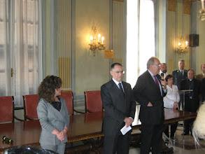 Photo: Claudio Sammaritno, Prefetto di Savona, e Luciano Pasquale, Presidente della Camera di Commercio di Savona