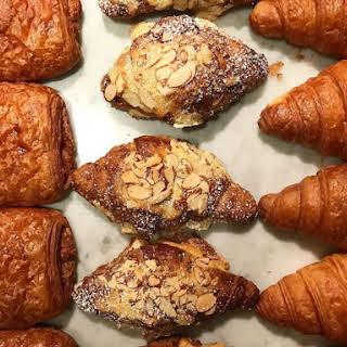 Freshly Baked Croissants.