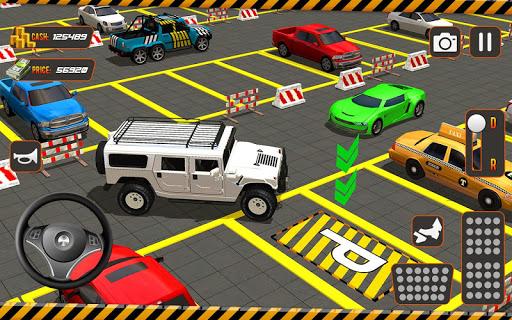 real driving car parking: us car driving school screenshot 1