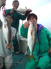 Photo: ミヨシでも同時にヒットしていた横尾さんも交えて3ショット!!