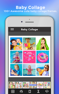 baby pic collage maker story photo editor apps on google play