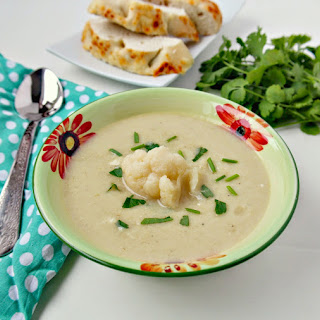 Cauliflower and Cheese Soup Recipe