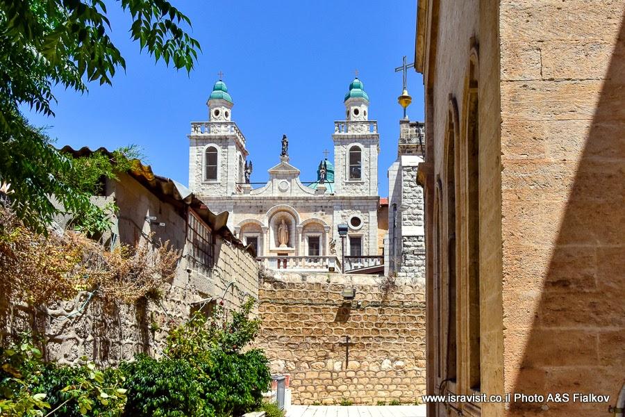 Церковь Венчания. Кфар Кана. Экскурсии в Израиле.