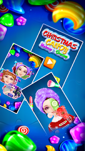 Christmas Candy Makeup and Dressup - náhled