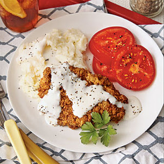 Chicken-Fried Steak with Milk Gravy