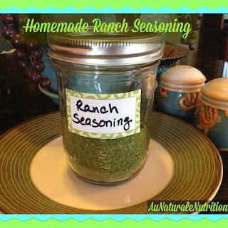 Homemade Ranch Seasoning - Au Naturale!