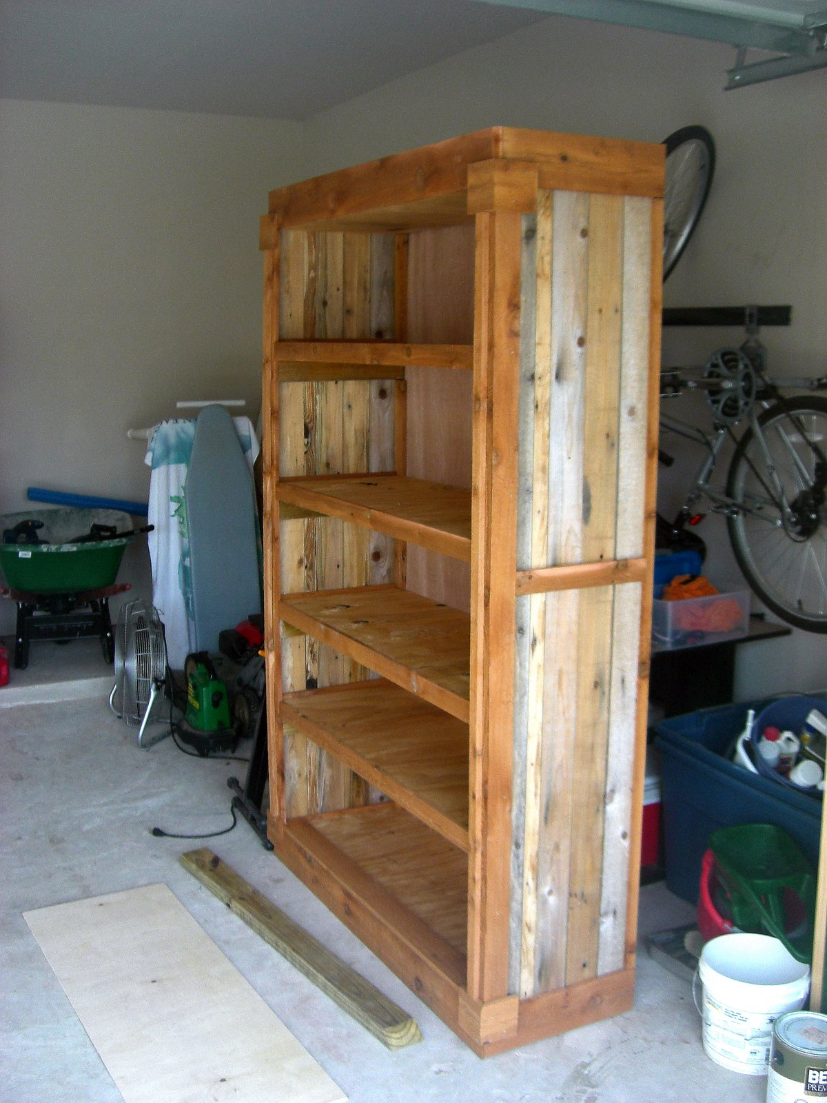 Photo Western Bookshelf I Build For My Fathers Day Gift