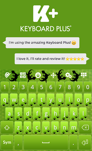 Green Lizard Keyboard