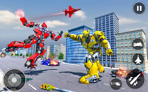 Game US Police Transform Robot War APK for Windows Phone