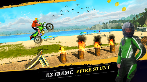 Crazy Biker Extreme Challenge Sky Stunt 3D painmod.com screenshots 8
