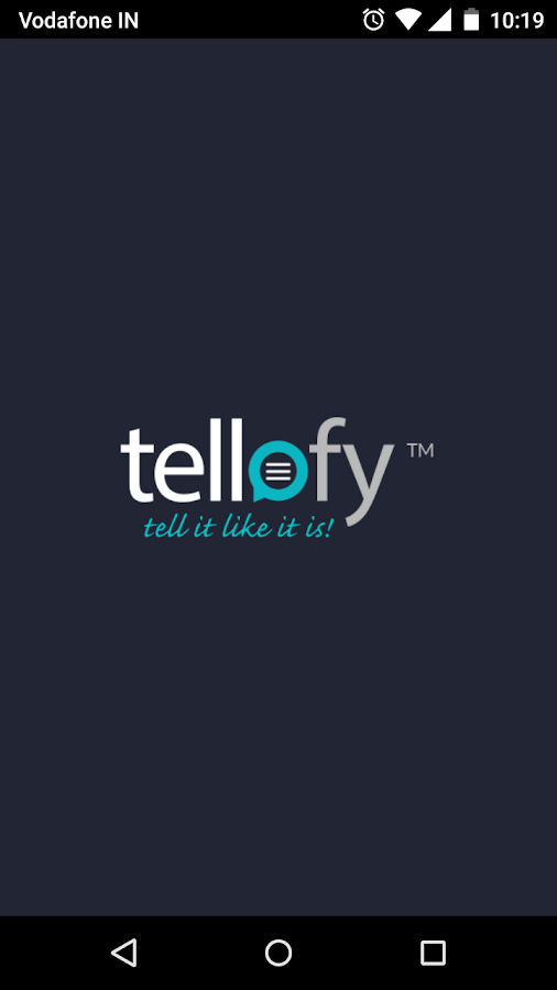 Tellofy- screenshot