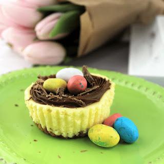 Mini Easter Cheesecakes Recipe