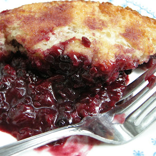 Old Fashioned Berry Cobbler.