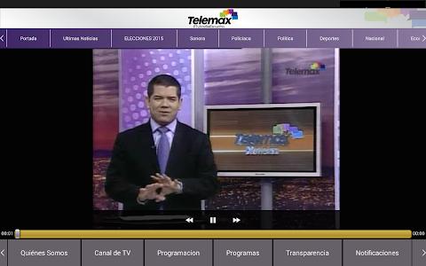 Telemax Sonora screenshot 10