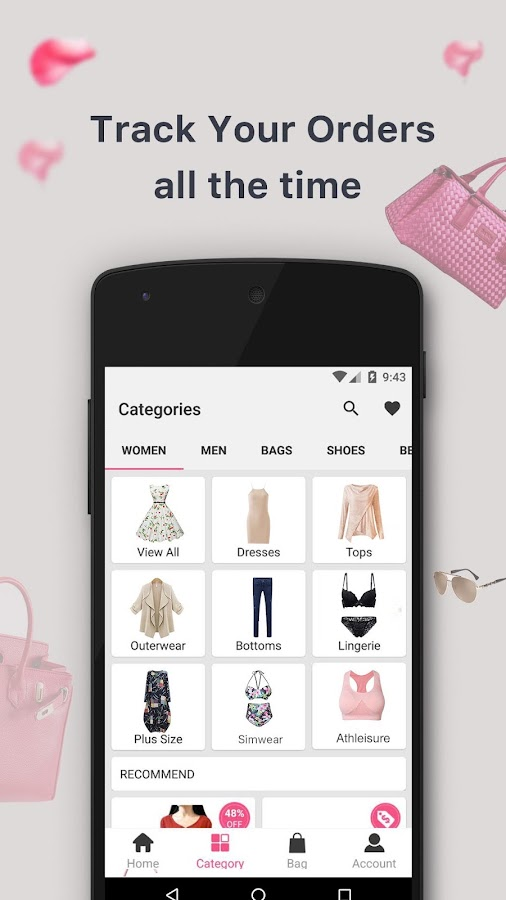 Newchic-shopping dresses bags- screenshot