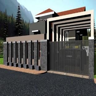 Design Fence House - náhled