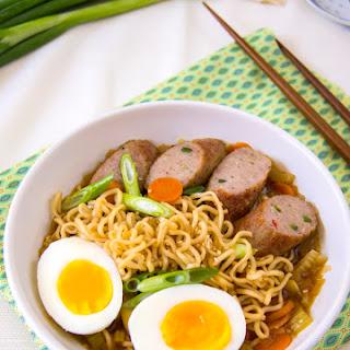 Chicken Ramen Noodle Soup.