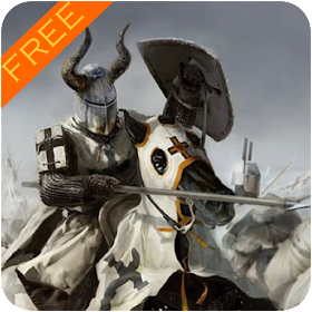 White Knight Warrior Wallpaper