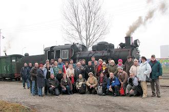 Photo: Na stacji Środa Wąskotorowa przed odjazdem pociągu do Zaniemyśla