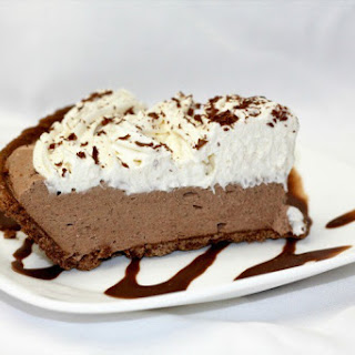 Creamy Chocolate Cheesecake.