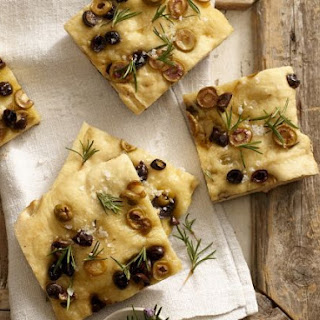 Mixed Olive Bread.