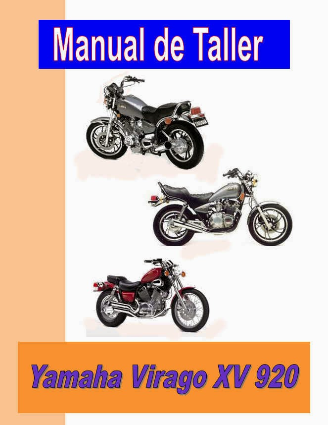 Yamaha XV 920 Virago-manual-taller-despiece-mecanica